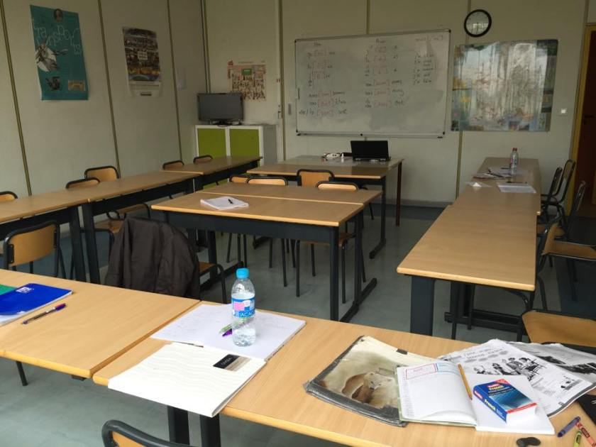 My classroom at IFALPES