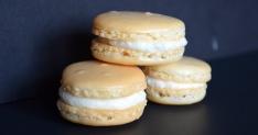 Lychee Macarons